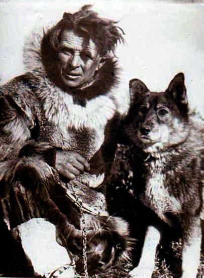 Leonard Seppala y su perro Togo