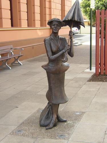 Estatua en Maryborough, Australia.