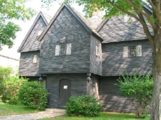 Casa en Salem donde se juzgaba a las Brujas (Casa Corwin)