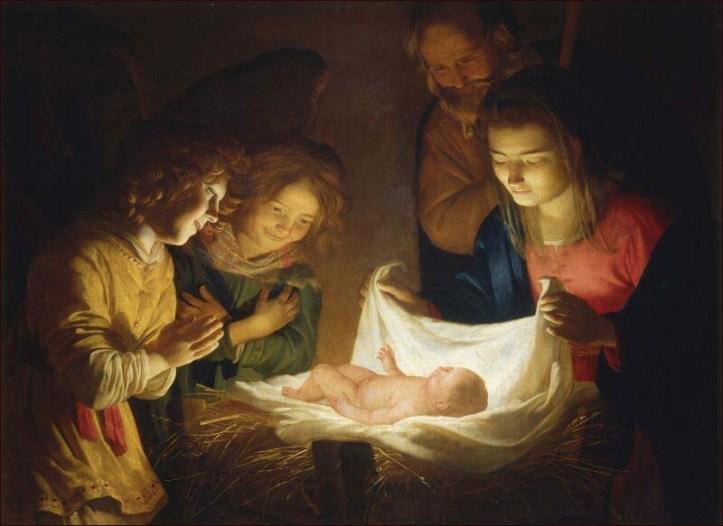 Adoración del Niño  de Van Hornthorst