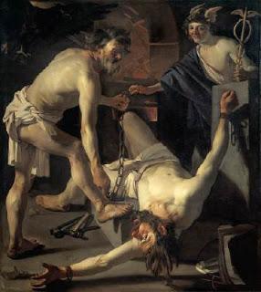 Prometeo del pintor  D. Van Baburen