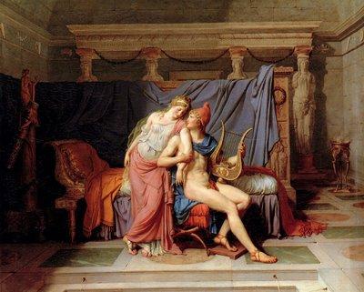David Jaques Louis - El cortejo de Paris y Helena