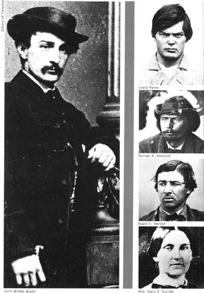 Los implicados en el asesinato de Lincoln