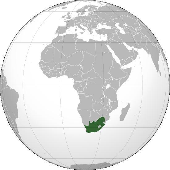 Sudáfrica, lugar donde transcurre la acción del libro.