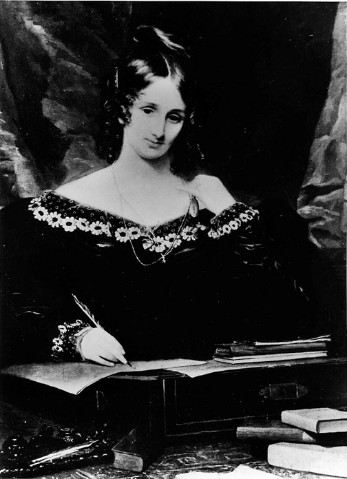 Mary Shelley, la autora.