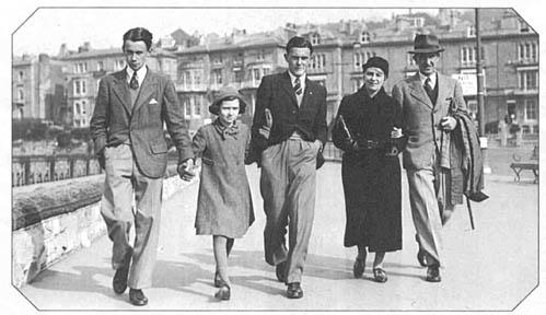 Foto familiar en 1940