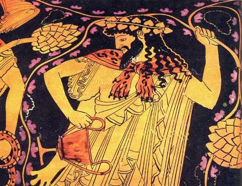 Dionisio, Dios del vino y el desenfreno