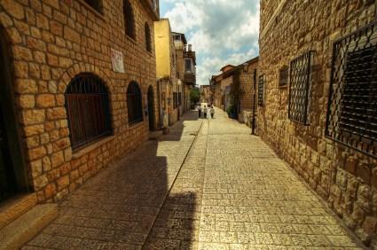 Calles de la ciudad de Safed
