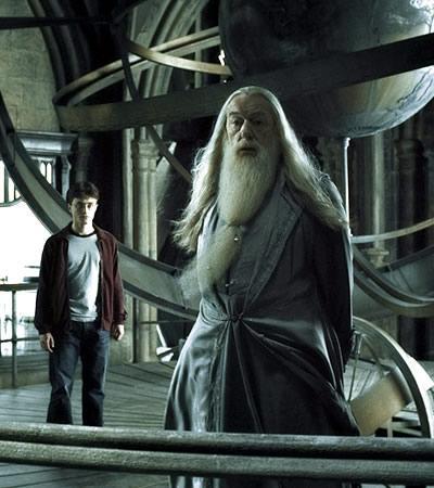 Dumbledore siempre diciéndole a Harry que él puede elegir.