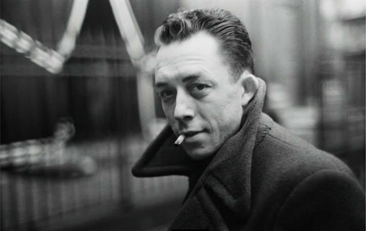 Este es Camus. Tiene un no se qué que qué se yo...