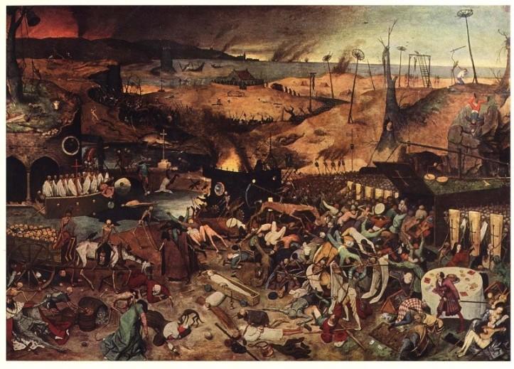 """""""El Triunfo de la Muerte"""" del pintor Pieter Brueghel el Viejo"""