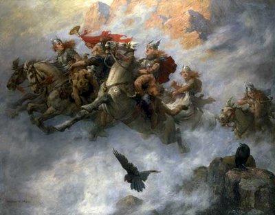 Las sagas heróicas fueron fuente de su inspiración.