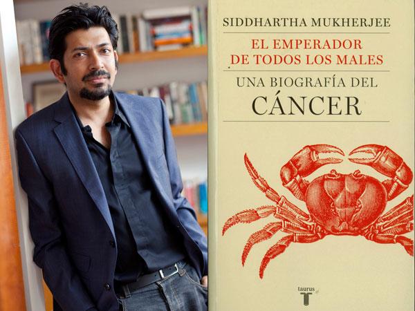 Aquí el autor, y el libro, que también está editado en español.