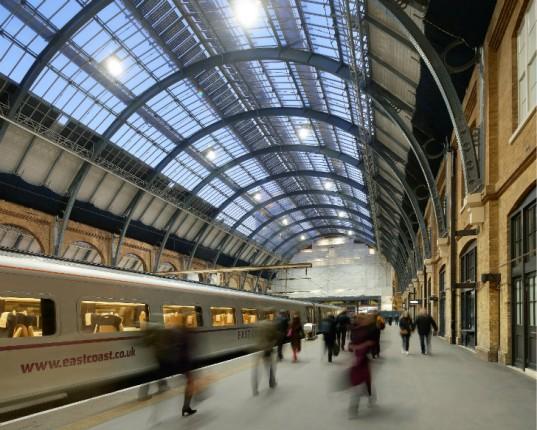 Estación de Kings Cross, tan importante para la historia de Rowling y Harry Potter