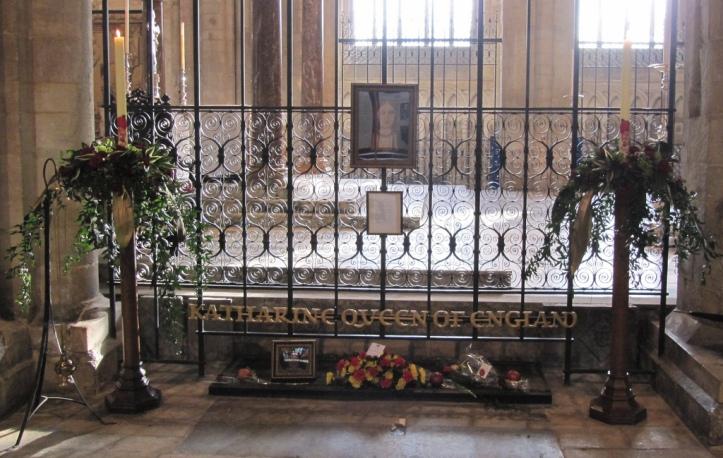 Tumba de la Reina Catalina de Aragón