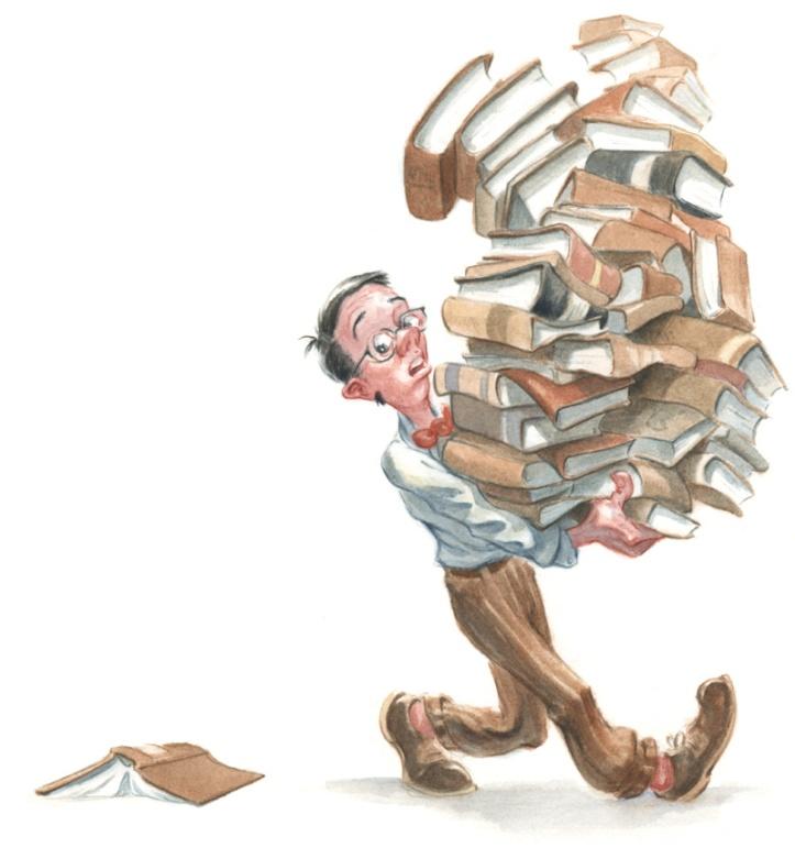 Y ahora: los libros.