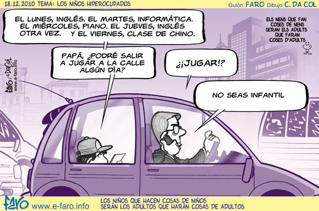 Niños hiperocupados-Faro