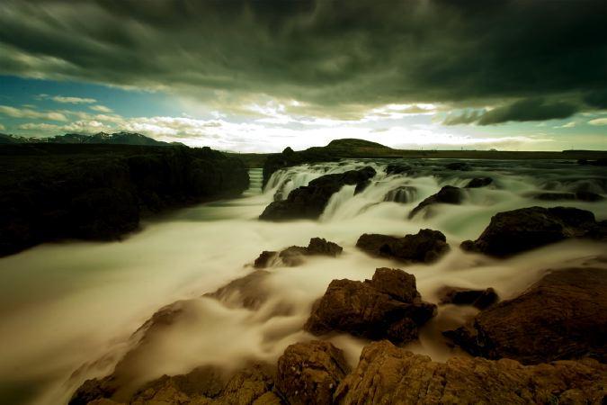 Paisaje Islandés, tierra de trolls.