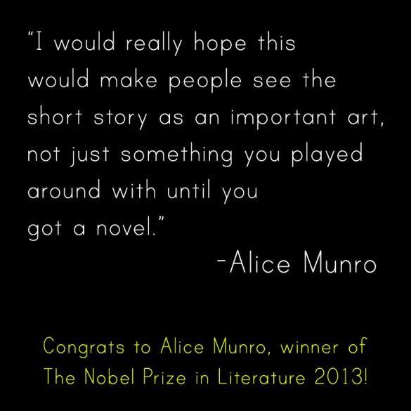Espero que con esto las personas vean que la historia corta es un arte importante, no sólo algo con lo que juegas mientras llegas a escribir una novela.