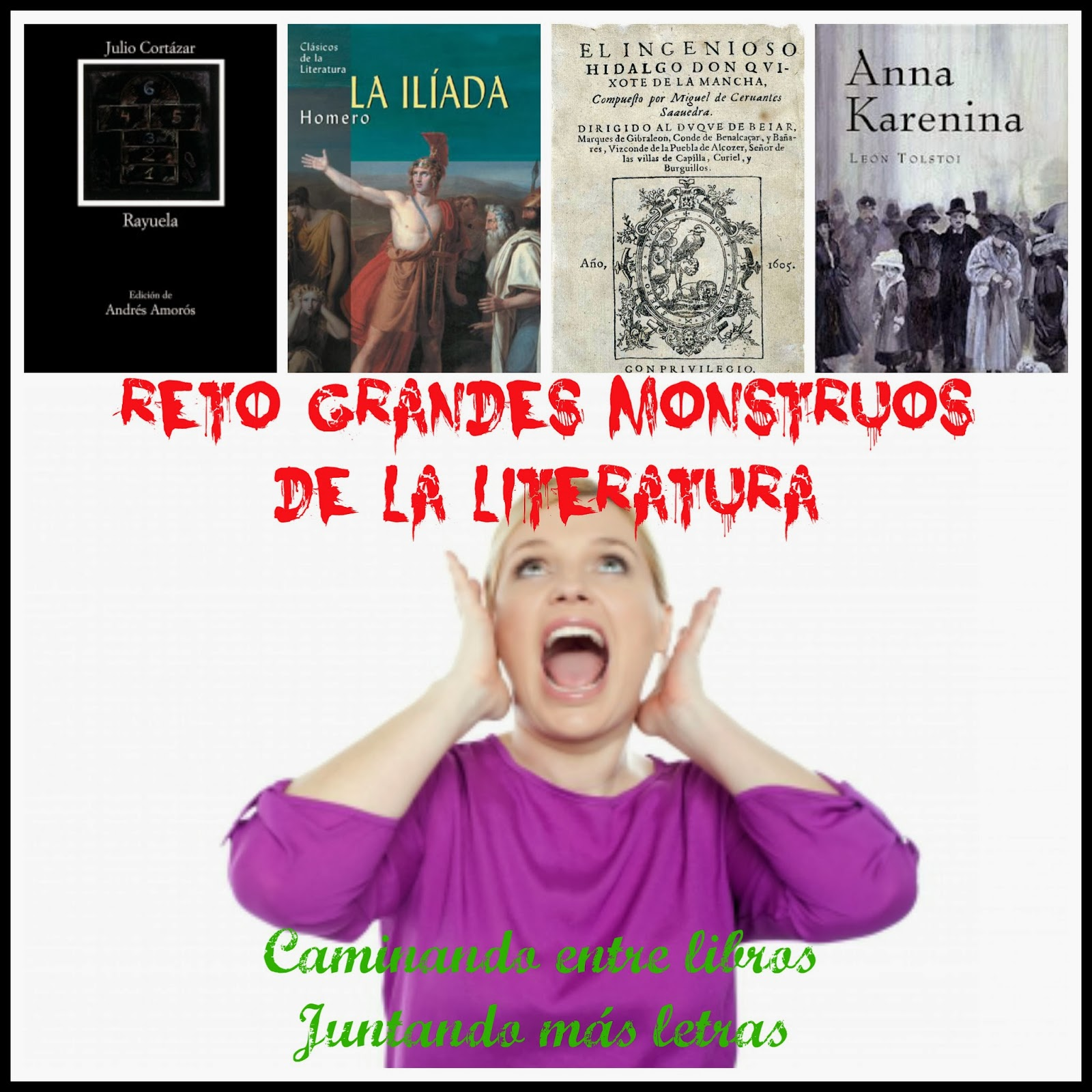 Reto grandes monstruos de la literatura