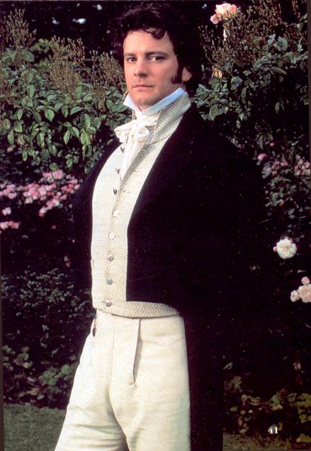Colin Firth como Mr. Darcy (serie BBC de Orgullo y Prejuicio)