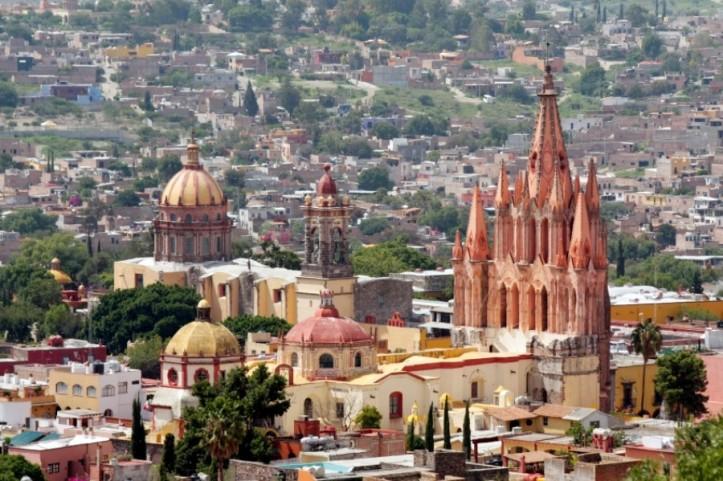 San Miguel Allende, Guanajuato, México.