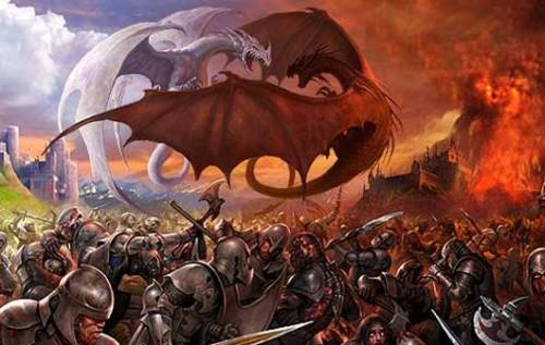 dragons-battling-each-other-and-alonside-men