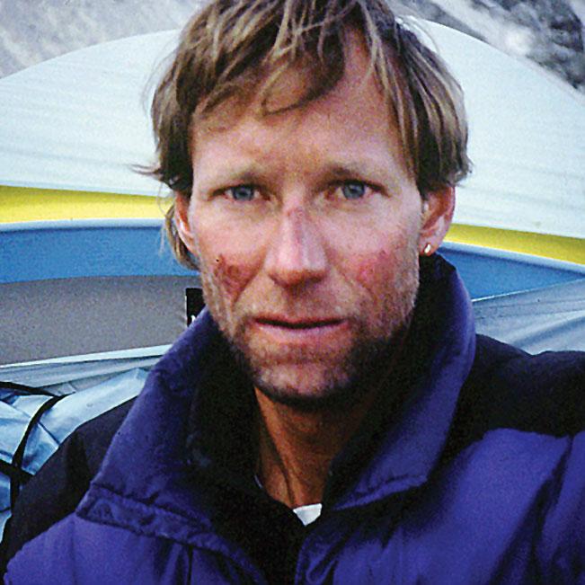 Neal Beidleman, otro de los guías con los que trabajaba Boukreev