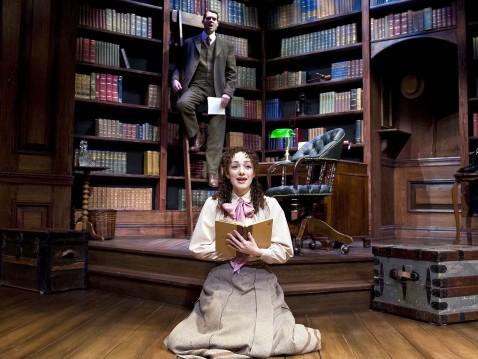 Escena de la obra llevada al teatro, en Londres.