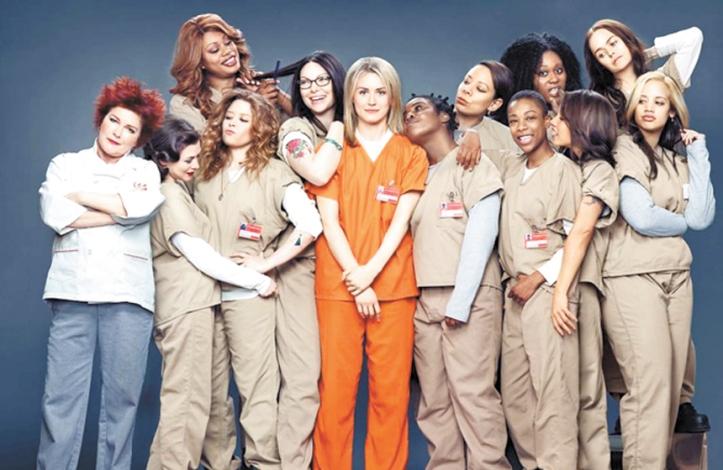 El elenco de la serie.