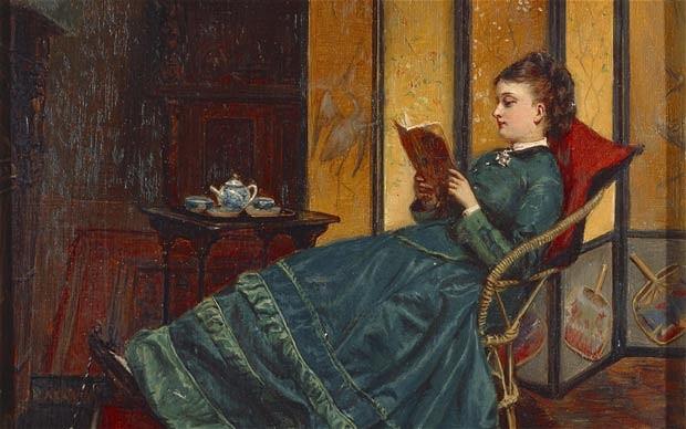Vamos comenzando la lectura. ¿Qué? ¿Qué dice de los lectores hembra???