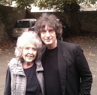 Diana Wynne Jones y Nail Gaiman.