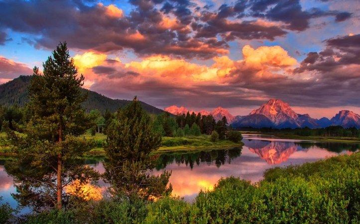 Y como pueden ver, no mentía acerca de la belleza de la naturaleza.