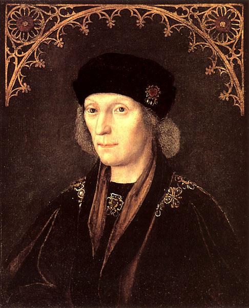 Enrique, hijo de Margarita Beaufort.