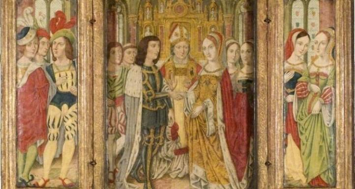 Matrimonio de Eduardo IV e Isabel Woodville.
