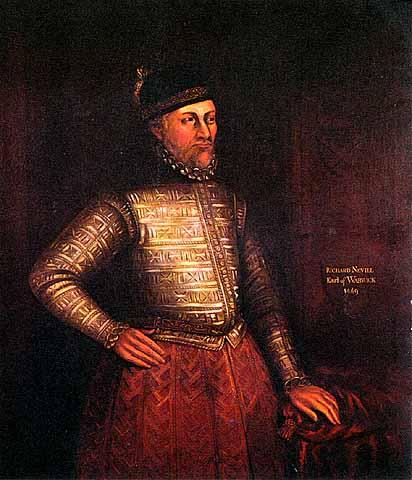 Richard Neville, conde de Warwick (el hacedor de reyes, para los cuates)