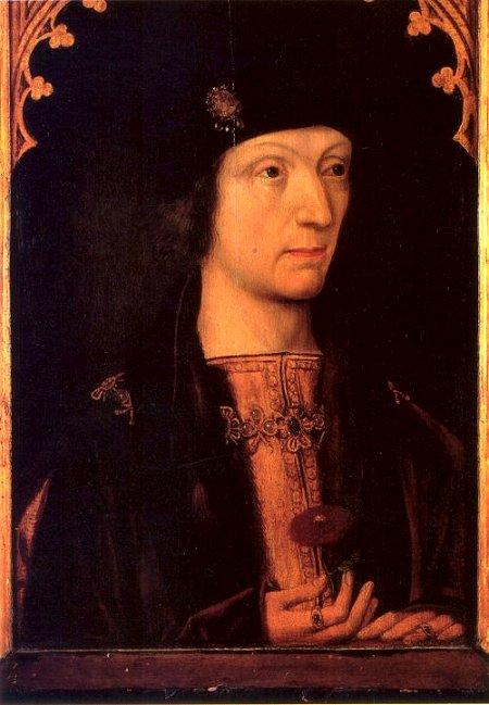 Enrique Tudor, conocido como Enrique VII.