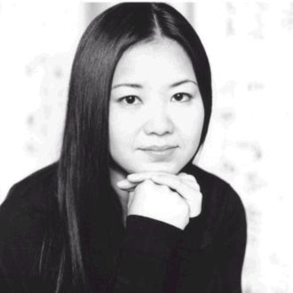 La autora, cuyo verdadero nombre es Yan Ni.