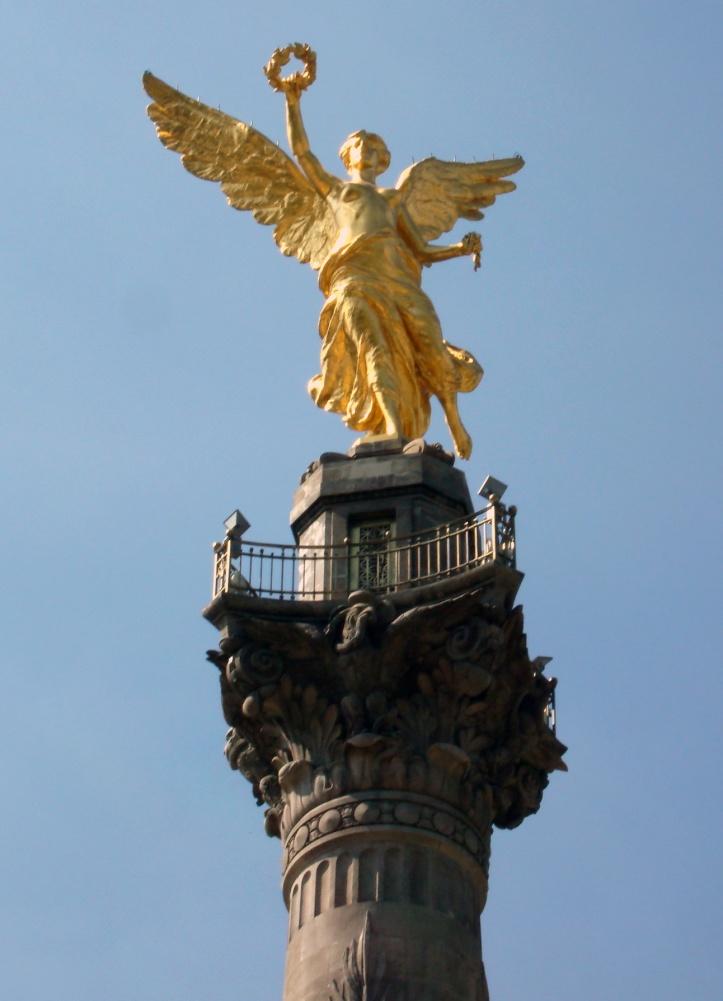 Ángel de la Independencia, ciudad de México.