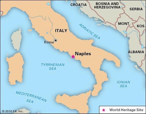 Para ver dónde está Nápoles ;)