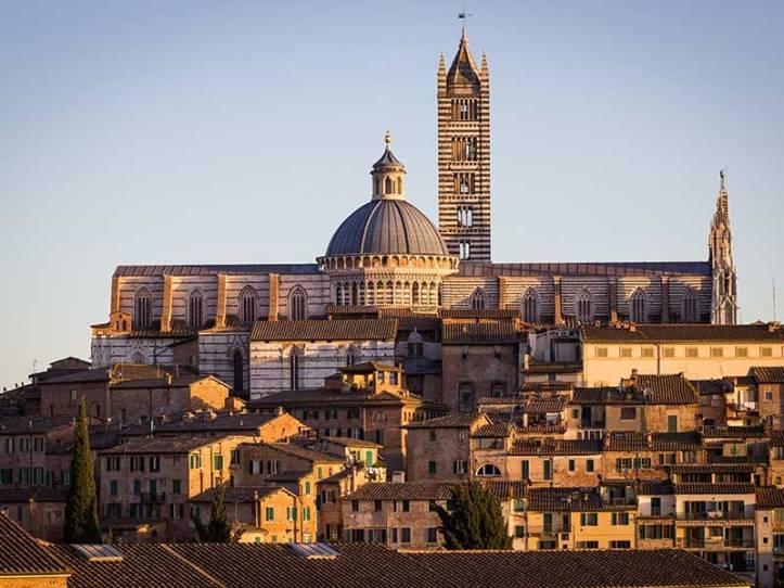 la ciudad de Siena