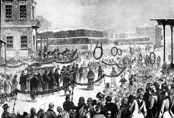 Funeral de Dostoievski.