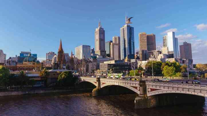Melbourne, donde transcurre la acción.