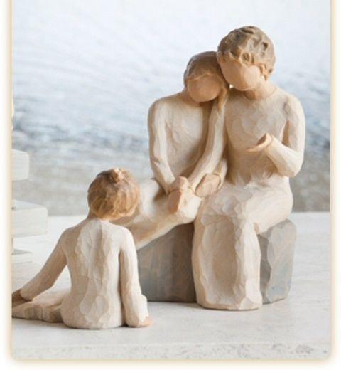 Abuela con las nietas