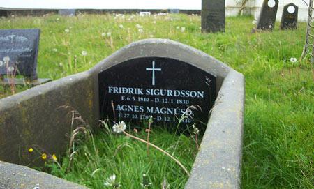 Tumba de Fridrick y Agnes.