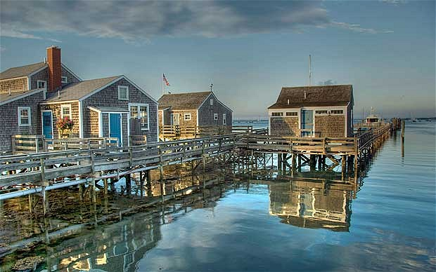 Nantucket y sus casas.