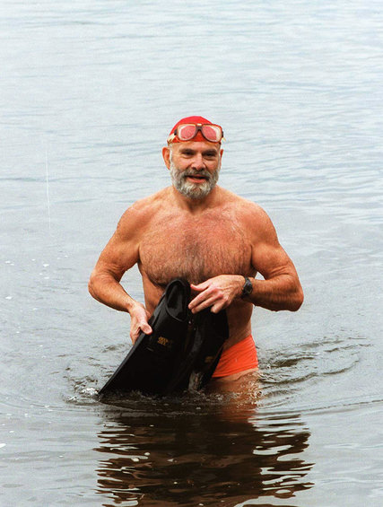 Siempre disfrutó mucho de la natación.