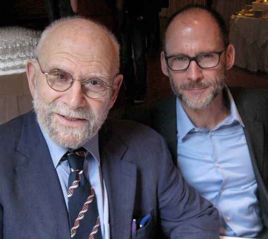 Oliver Sacks y Bill Hayes
