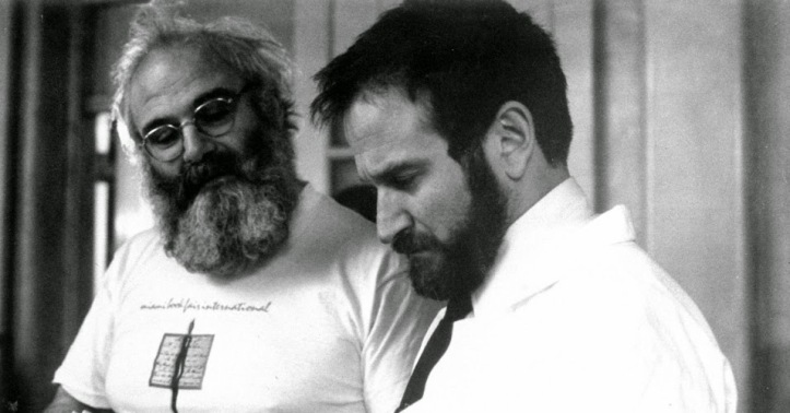 El Dr. Sacks y Robin Williams.