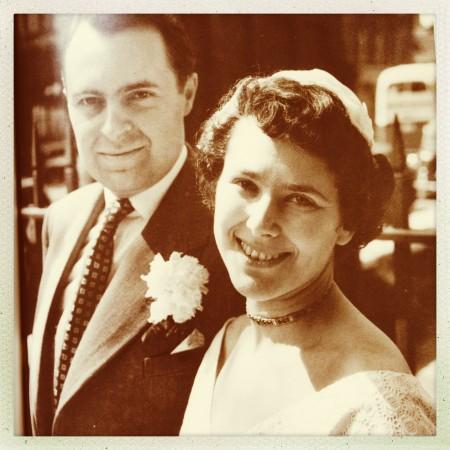 Foto de la boda de la autora.